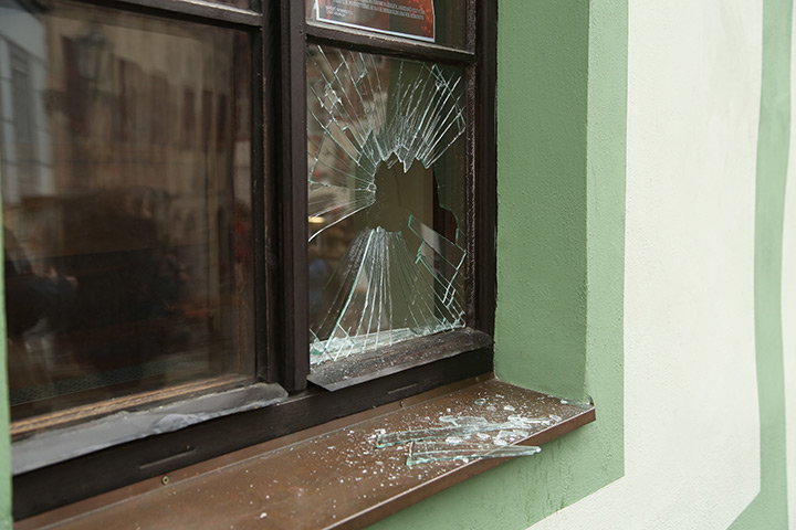 A2B Glass are able to board up broken windows while they are being repaired in Wood Green.